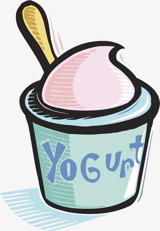 Yogart clipart clip library library A Cup Of Yogurt, Cup Clipart, Spoon, Yogurt Vector PNG Transparent ... clip library library