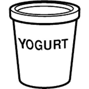 Yogurt clipart png jpg library stock Yogurt clipart, cliparts of Yogurt free download (wmf, eps, emf, svg ... jpg library stock