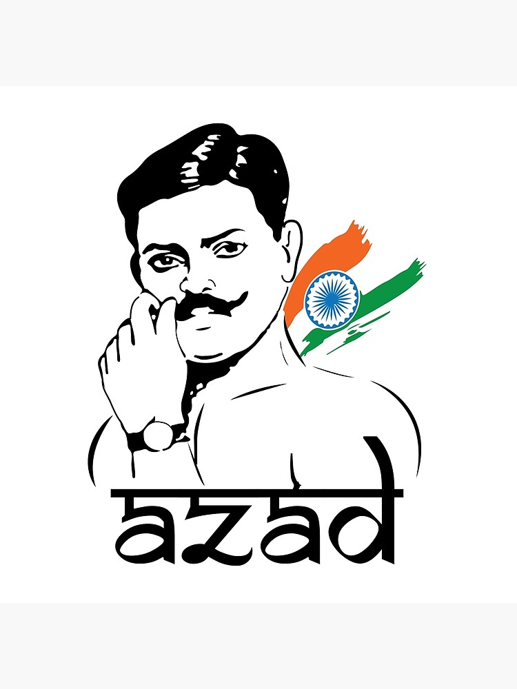 Freedom fighters clipart png transparent download Chandra Shekhar Azad Indian Freedom Fighter | Poster png transparent download