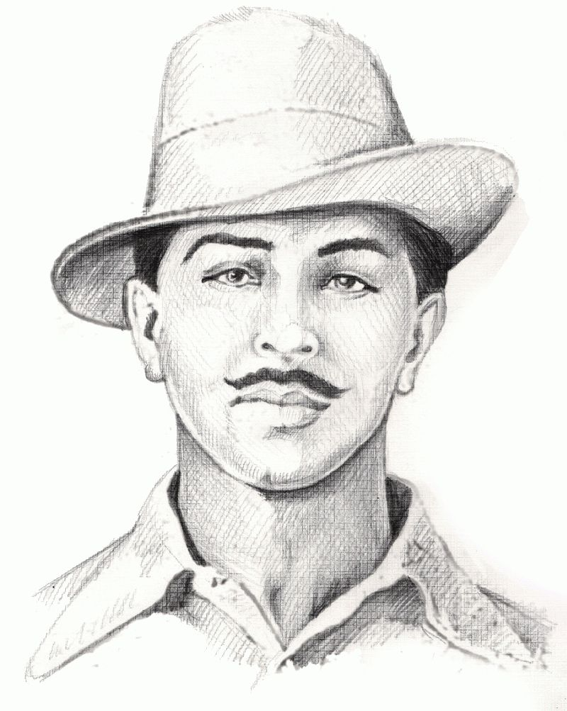 Freedom fighters clipart image free library Bulls Clipart bhagat singh 25 - 800 X 1003 | freedom fighters in ... image free library
