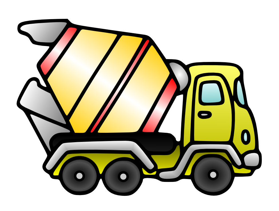 Cat backhoe clipart svg royalty free stock Free domain- Cement Mixer | Clip Art-On The Go! | Pinterest | Cement ... svg royalty free stock