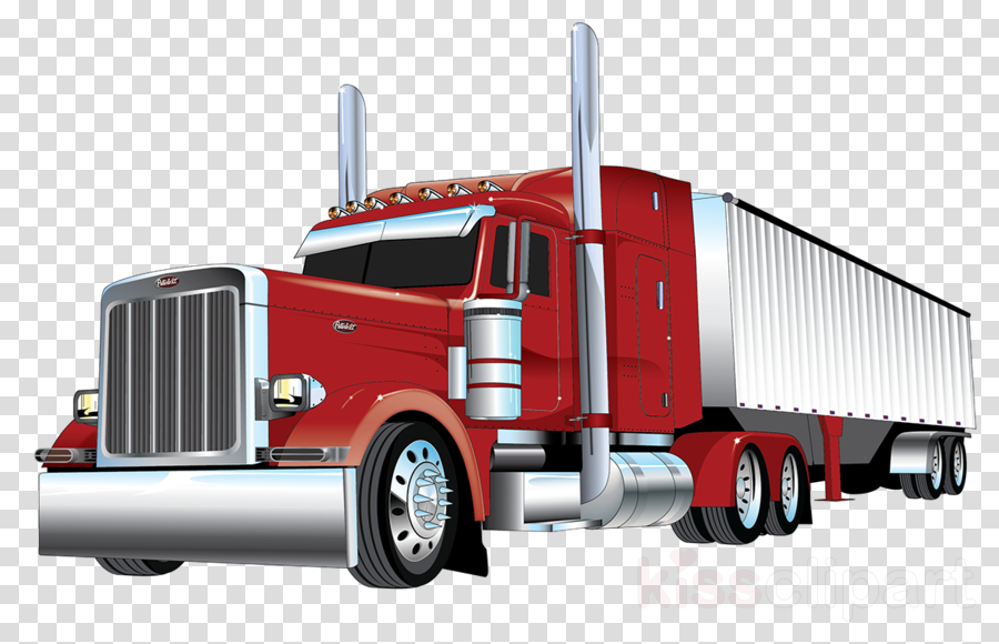 Library of freightliner truck black and white library png ...
