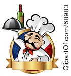 French chef clipart graphic free stock Royalty-Free (RF) French Chef Clipart, Illustrations, Vector ... graphic free stock