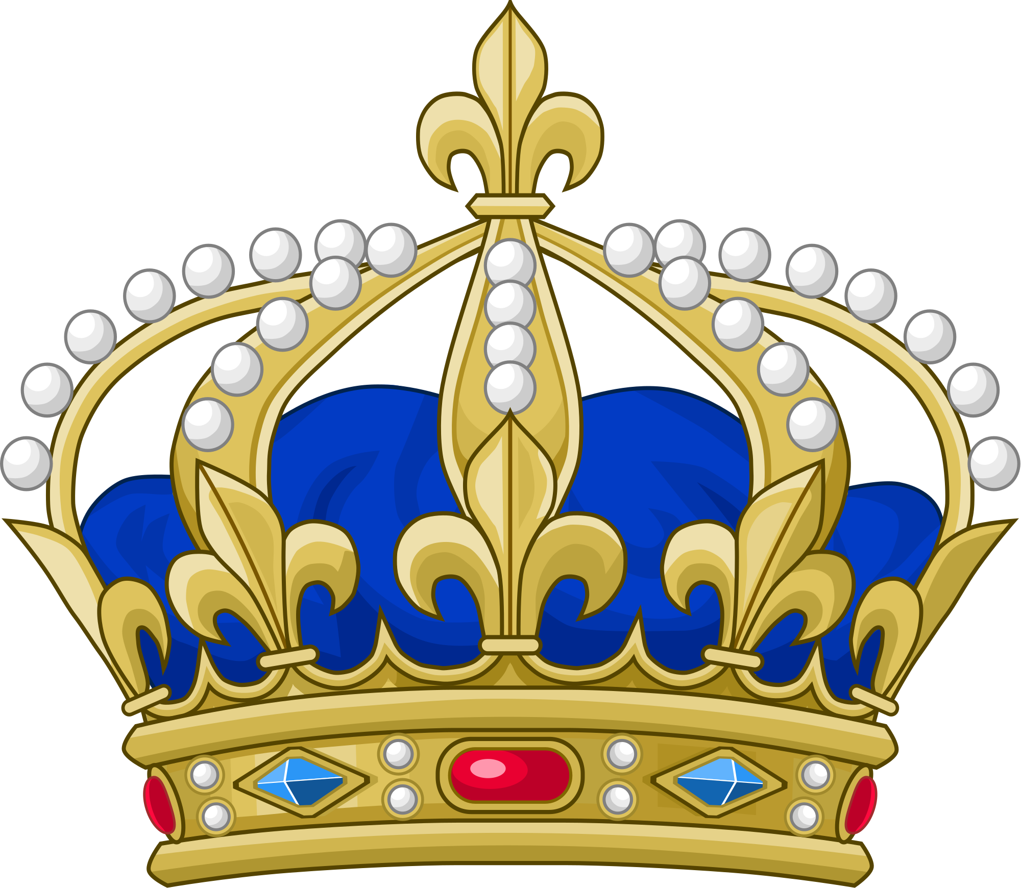 French crown clipart graphic freeuse library File:Royal Crown of France.svg - Wikimedia Commons graphic freeuse library