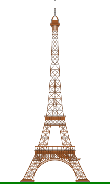 Eiffel tower clipart free svg freeuse stock La Tour Eiffel (eiffel Tower) Clip Art at Clker.com - vector clip ... svg freeuse stock
