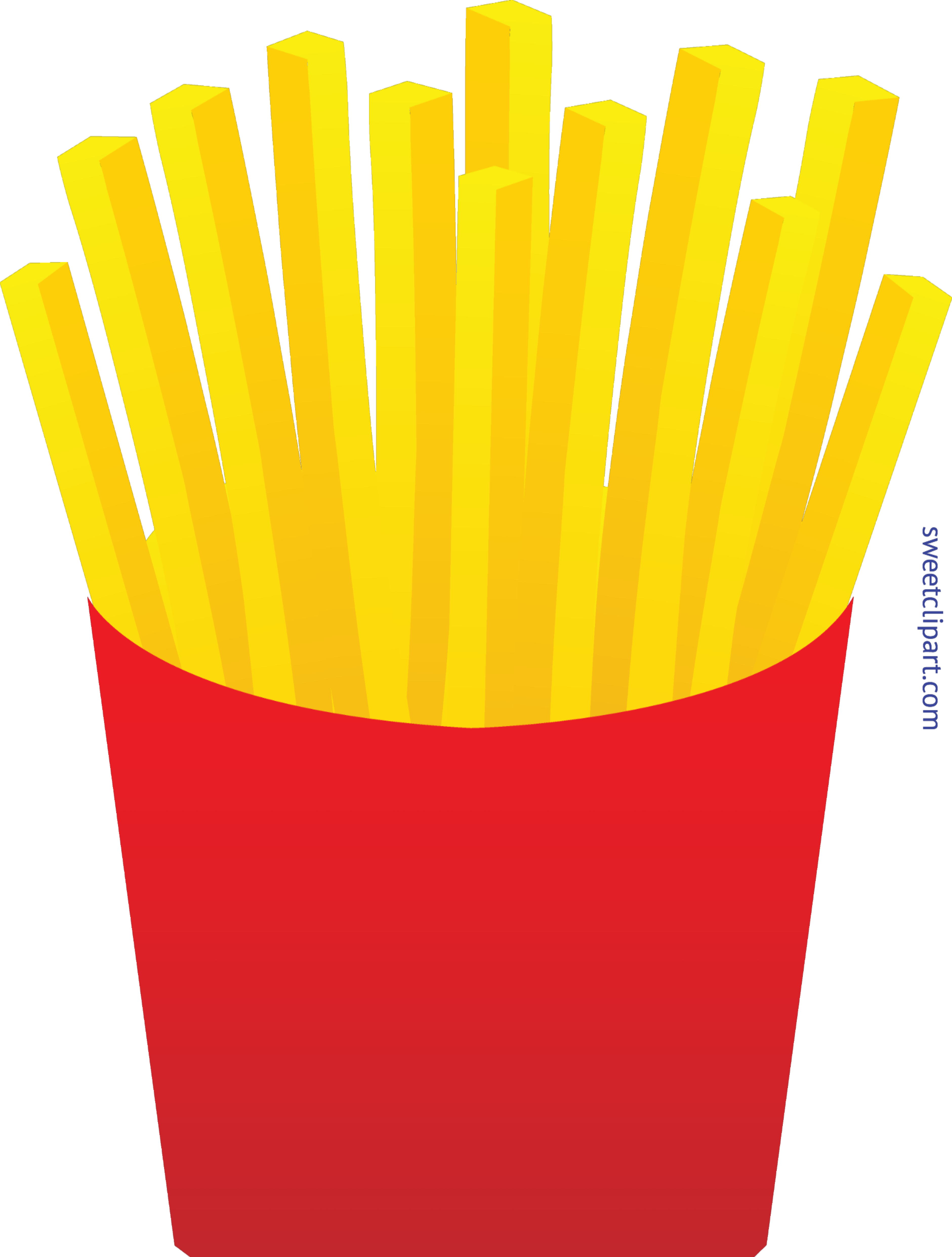French fries pictures clipart image black and white French Fries Clip Art - Sweet Clip Art image black and white