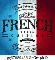 French restaurant clipart image royalty free library French Cuisine Clip Art - Royalty Free - GoGraph image royalty free library