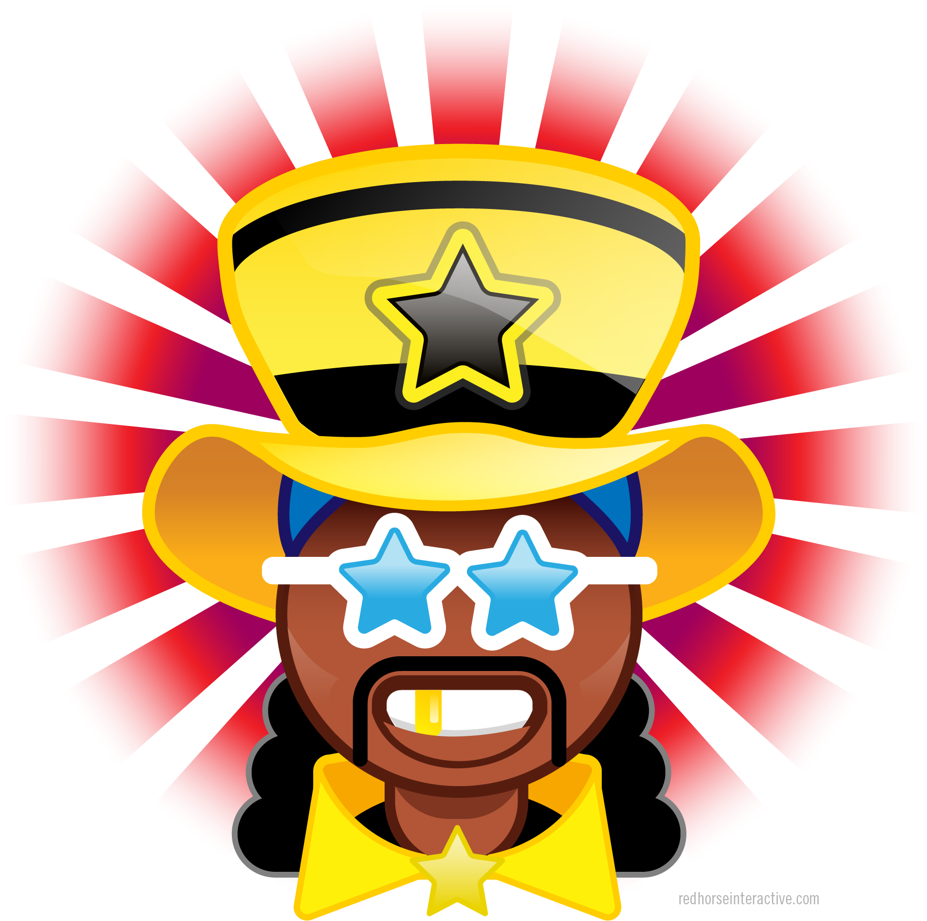 Frenzied clipart vector transparent download Bootsy Collins Emoji - Illustration Clipart - Full Size Clipart ... vector transparent download
