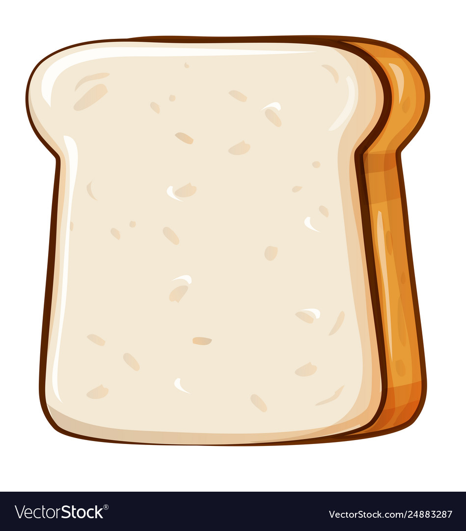 Fresh bread clipart clip library library Fresh bread toast for breakfast made in cartoon clip library library