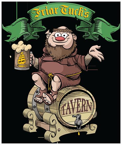 Friar tuck clipart jpg royalty free Friar Tuck\'s Tavern – Mystic, CT jpg royalty free