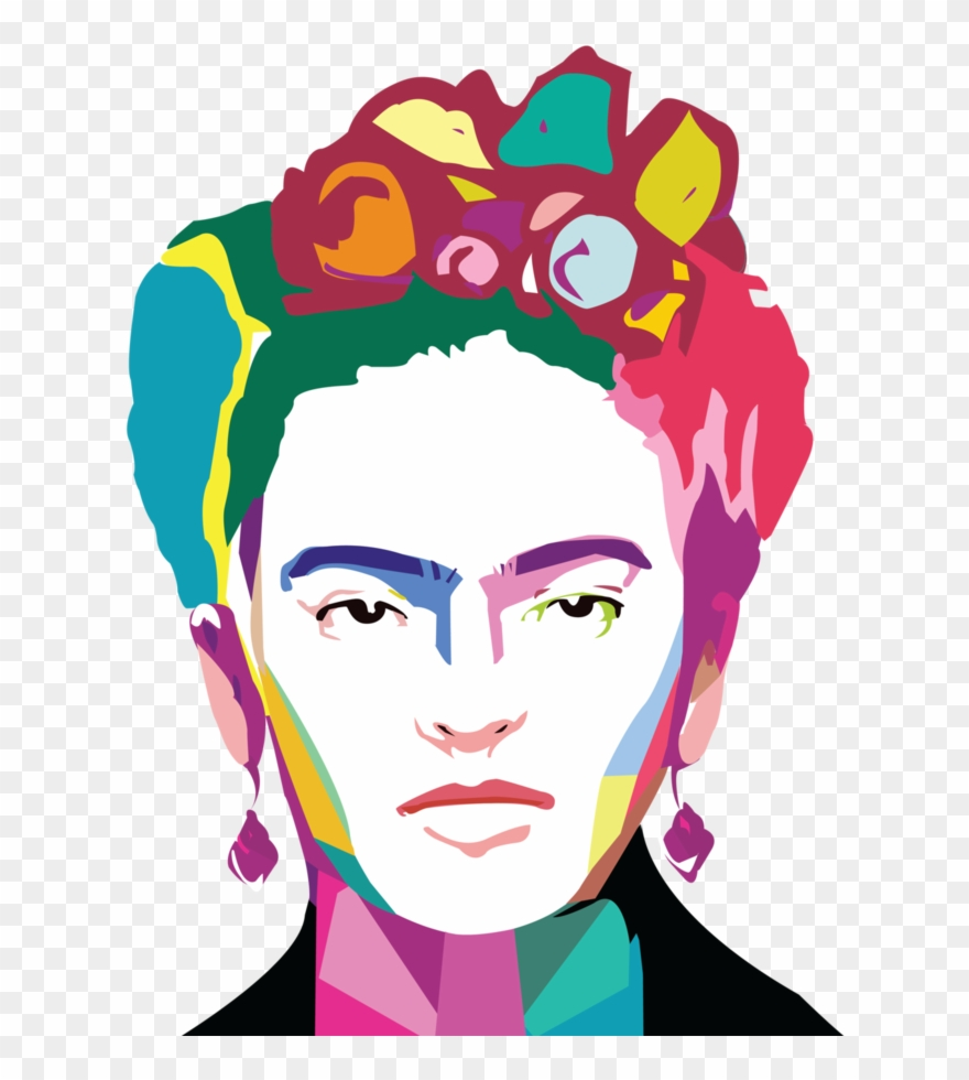Frida kahlo clipart free graphic free Frida Kahlo By Arrioja - Frida Kahlo Clipart (#676652) - PinClipart graphic free