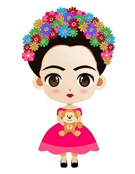 Frida kahlo clipart free banner freeuse download Fridita | Baby shower fiesta | Frida kahlo, Frida kahlo pinturas y ... banner freeuse download