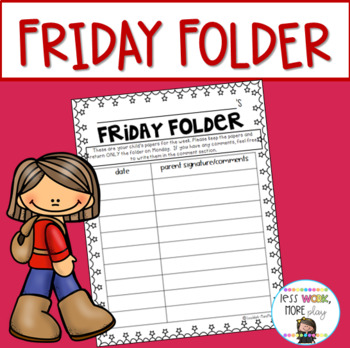 Friday folder clipart image download Friday Folders Worksheets & Teaching Resources | TpT image download