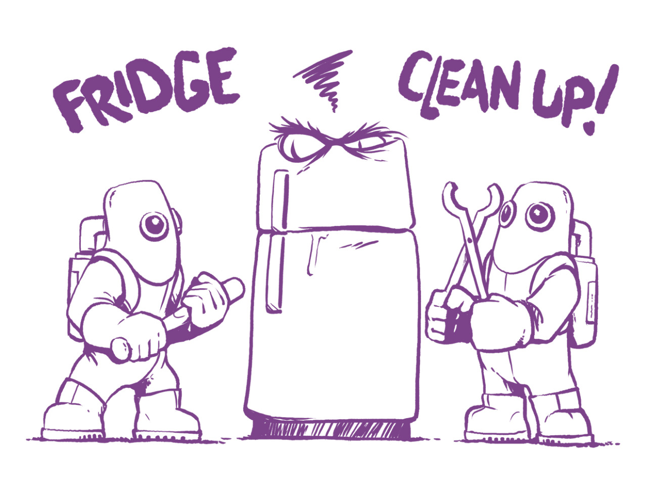 Refrigerator clean out clipart picture royalty free download Cleaning Refrigerator Smelly Clipart #2184 #279755 - Clipartimage.com picture royalty free download