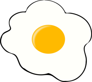 Fried egg clipart image transparent Egg Clip Art at Clker.com - vector clip art online, royalty free ... image transparent
