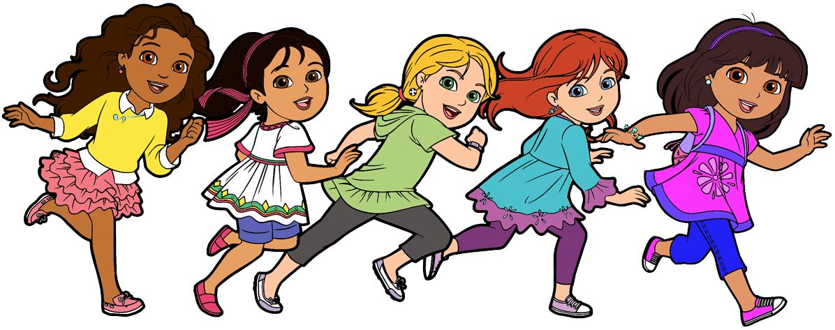 Friends at school clipart banner transparent download School Friends Clipart dora and friends clipart cartoon clip art ... banner transparent download