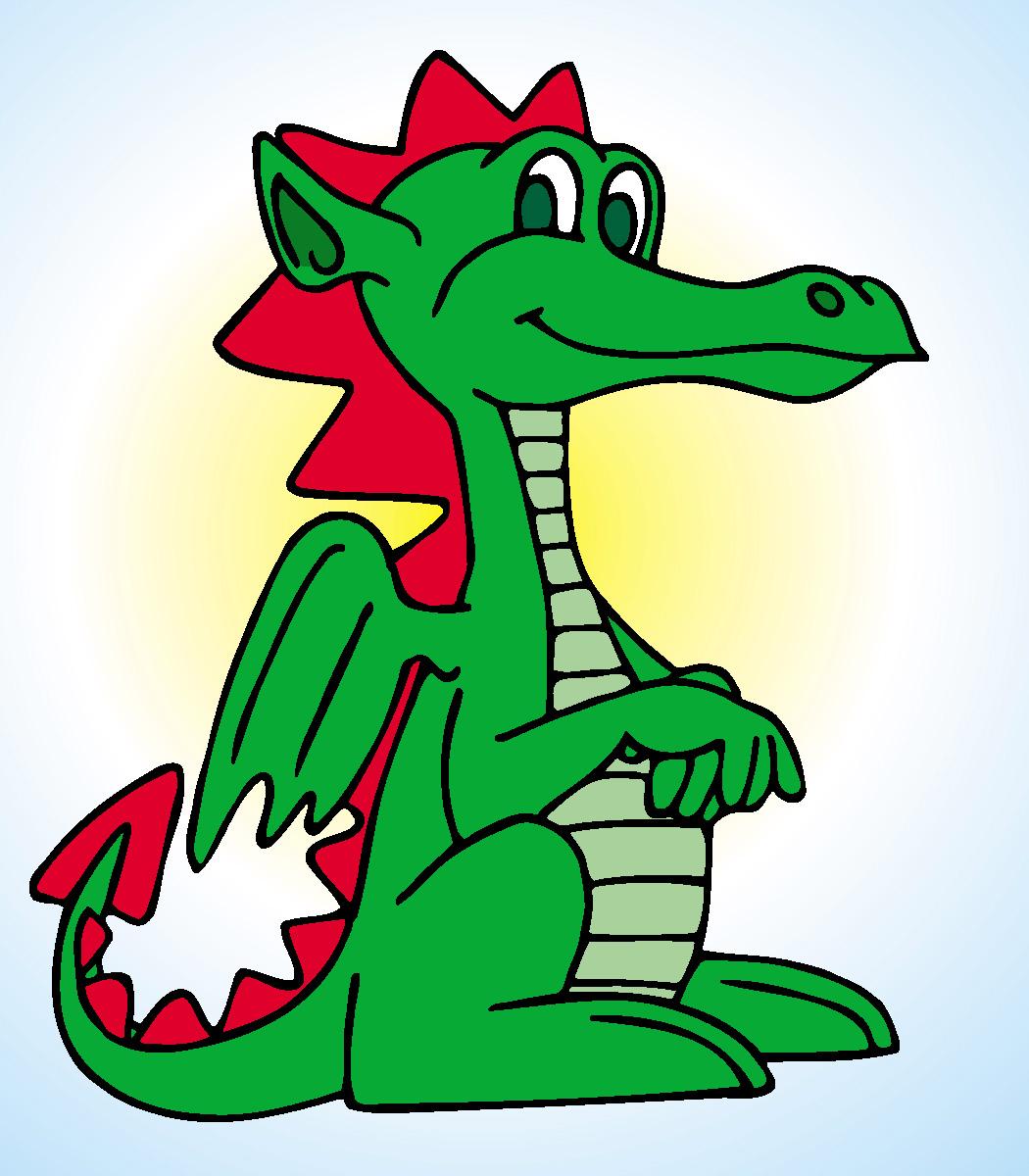 Friendly dragon clipart vector Friendly Dragon Clipart - Clip Art Library vector