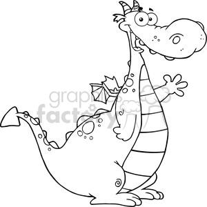 Friendly dragon clipart transparent dragon clipart - Royalty-Free Images | Graphics Factory transparent