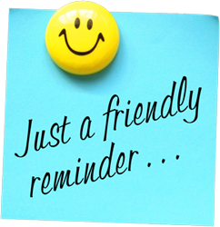 Friendly reminder clipart picture free library Friendly Reminder Clip Art & Look At Clip Art Images - ClipartLook picture free library