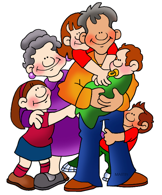 Friends at school clipart library Family and Friends Clip Art by Phillip Martin, Grandparents library
