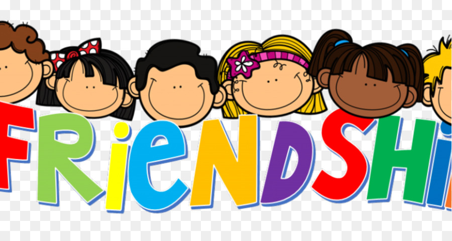 Friends clipart text image free stock Friendship Day Love Background clipart - Cartoon, Text, Child ... image free stock