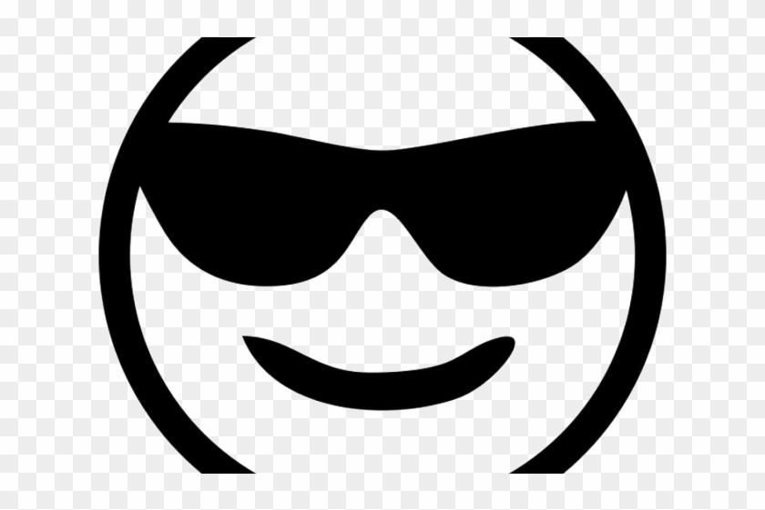 Friends emoji clipart black and white jpg royalty free Sunglasses Emoji Clipart Logo Png - Sunglasses Emoji Black And White ... jpg royalty free