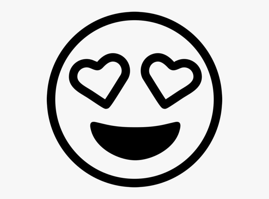 Black and white emoji clipart picture transparent stock Emoji Black And White Clipart - Black And White Love Emoji, Cliparts ... picture transparent stock