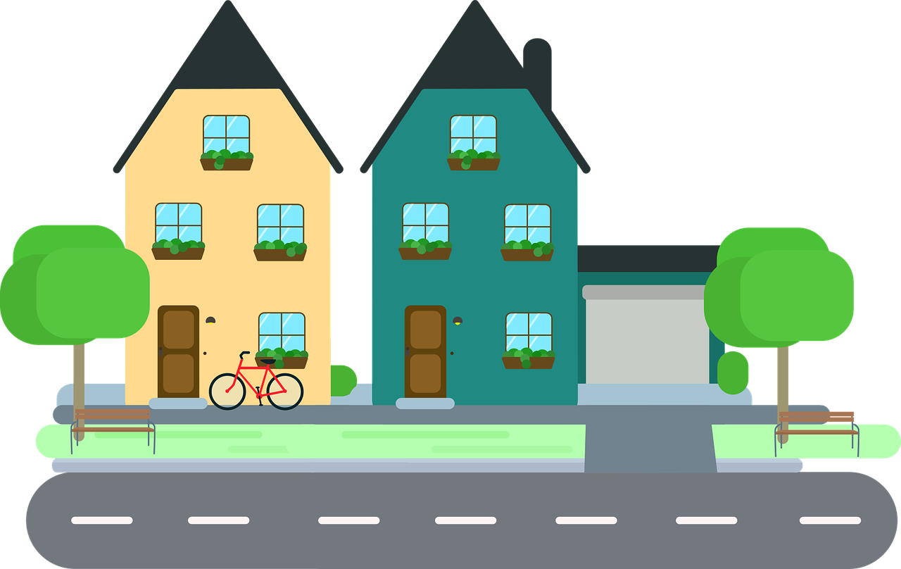 House pictures clipart with driveway clip royalty free download Can I promote my (very) small business locally with Facebook even if ... clip royalty free download