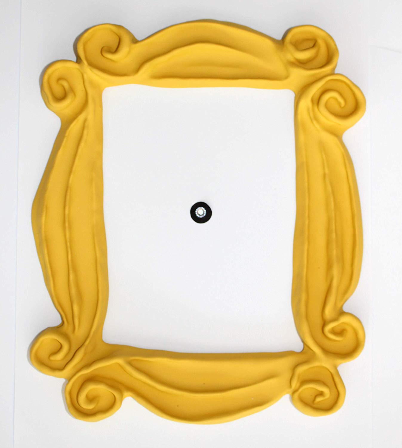 Friends peephole frame clipart clip art download Handmade with Love by Fatima Peephole Yellow Frame. Replica of The Frame  seen in Monica\'s Door. It has Two Side Tape. Ready to Hang. clip art download