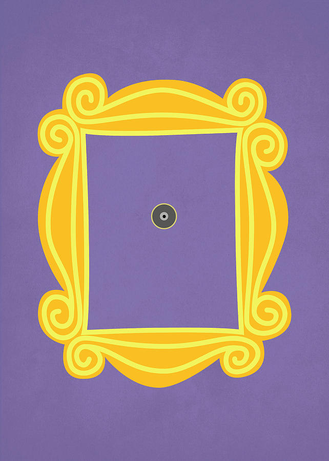 Friends peephole frame clipart library Friends Frame library