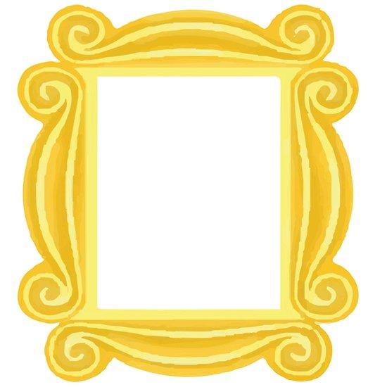 Friends peephole frame clipart clip art transparent stock \'Peephole Frame\' Poster by Morgan Turrentine clip art transparent stock