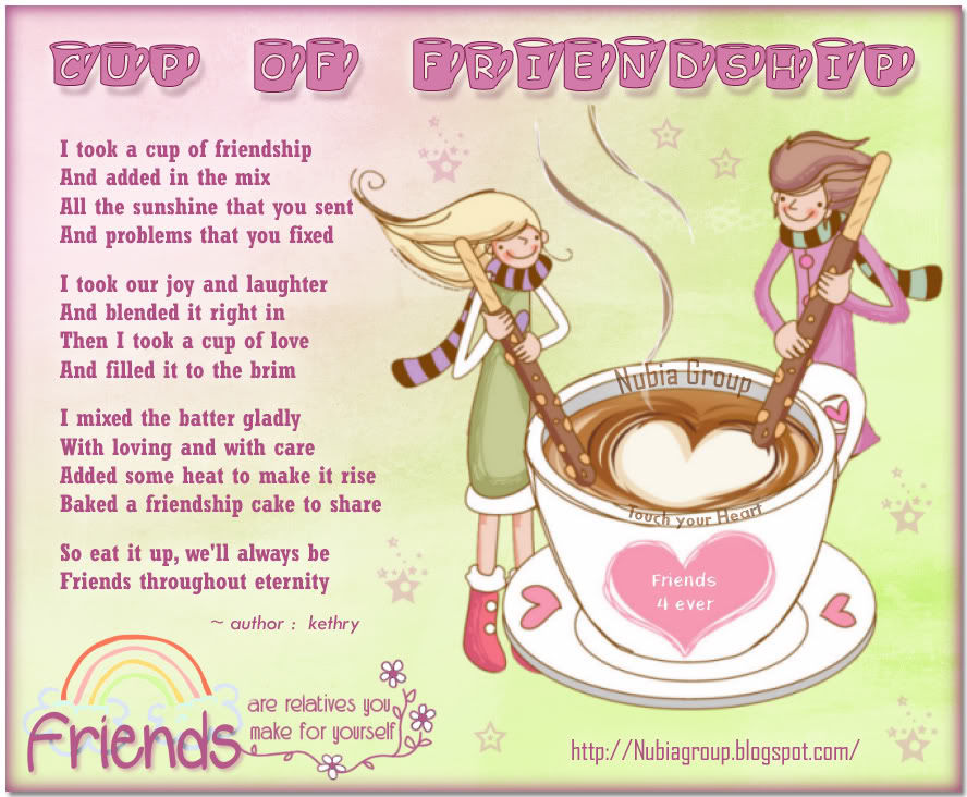 Friendship clipart for facebook jpg freeuse I Took A Cup Of Friendship And Added In The Mix.... Pictures ... jpg freeuse