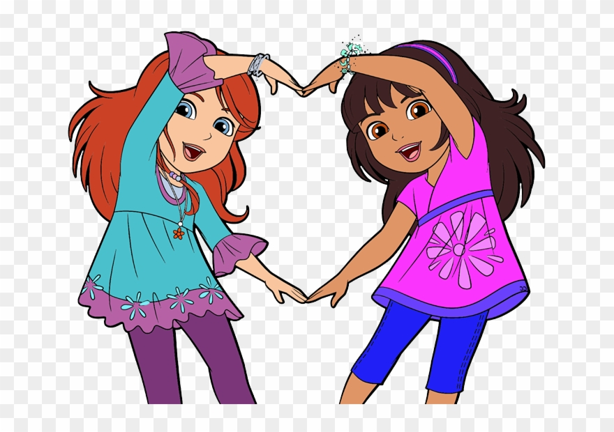 Library of friendshipgirl svg transparent png files ...