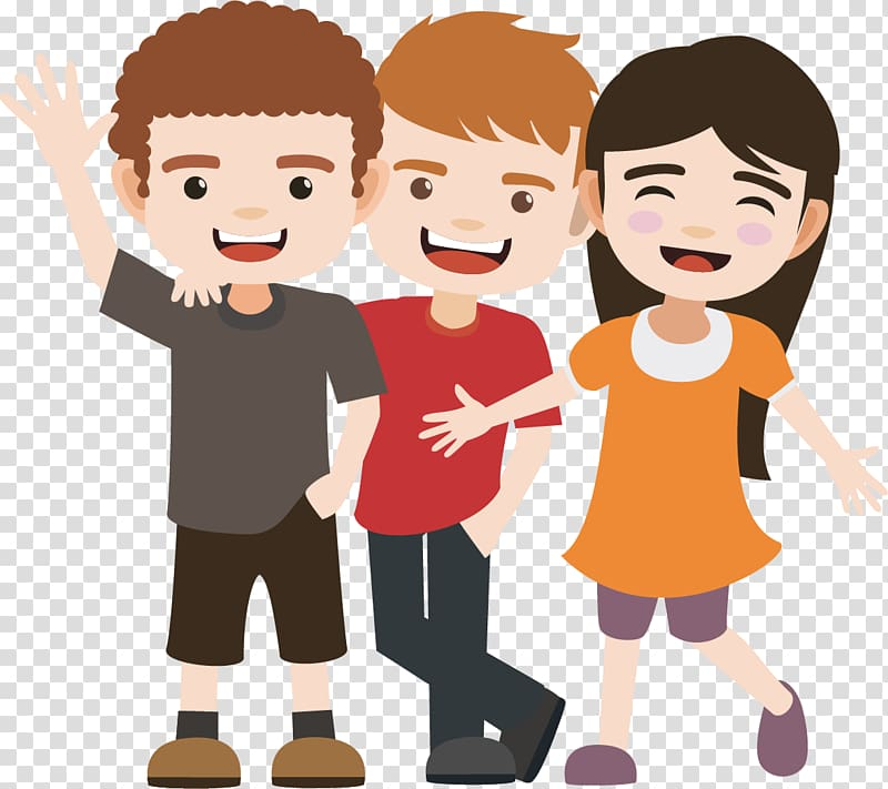Boys friendship clipart image library stock Two boys and girl standing , Friendship , Is a good friend ... image library stock