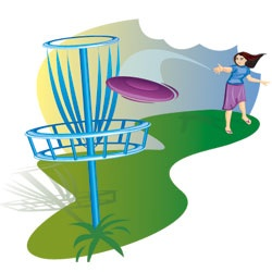 Frisbee golf clipart vector freeuse Disc Golf Clipart (100+ images in Collection) Page 1 vector freeuse