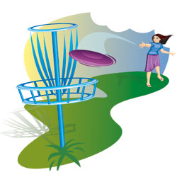 Frisbee golf clipart disc flying graphic free Disc Golf Clip Art & Look At Clip Art Images - ClipartLook graphic free