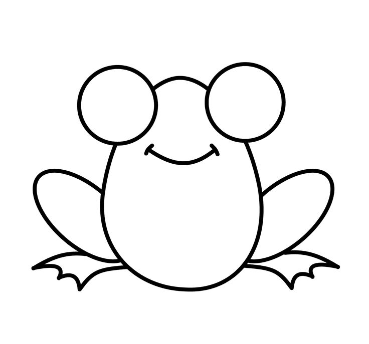 Frog clipart easy banner black and white Collection of Frog clipart | Free download best Frog clipart on ... banner black and white