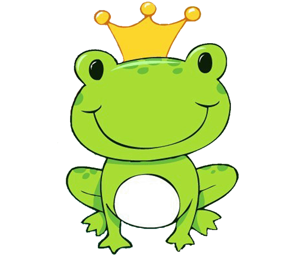 Frog in a crown clipart vector GEM SMART: oh toad frog | FROG CLIPART | Pinterest | Toad and Frogs vector
