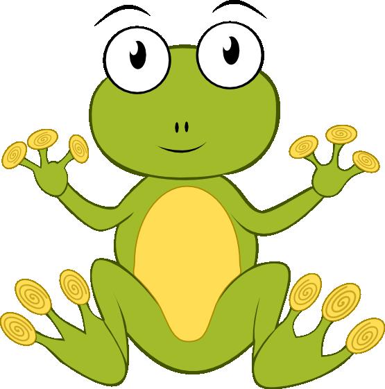 Frog crown clipart transparent download Cute hopping frog clipart free clipart images 2 clipartix 4 ... transparent download