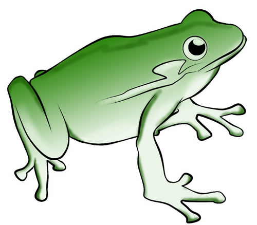 Frog cycle clipart vector free stock FREE Frog Clip Art to Download: Frog 15 (2) vector free stock