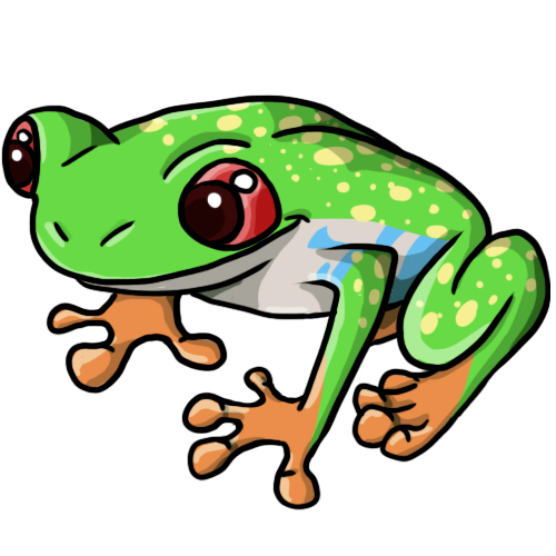 Frog cycle clipart picture library library 14 FREE Frog Clip Art Drawings and Colorful Images picture library library