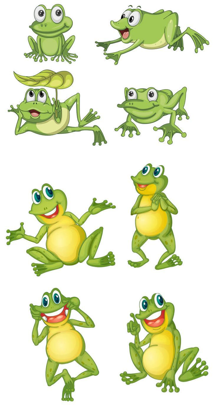 Frog observation clipart png black and white stock Cartoon Frog Vector | * Frog - Pictures | Frog illustration, Frog ... png black and white stock
