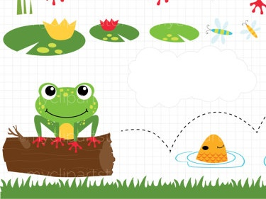 Frog on a log clipart picture royalty free library Clipart - Frog On A Log | Meylah picture royalty free library