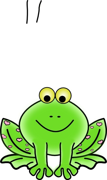 Frog peeking clipart picture transparent download Free Valentine Frog Cliparts, Download Free Clip Art, Free Clip Art ... picture transparent download