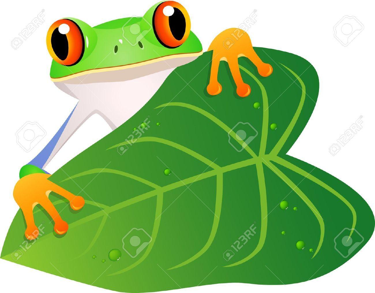 Frog peeking clipart vector Peek Stock Vector Illustration And Royalty Free Peek Clipart   FROG ... vector
