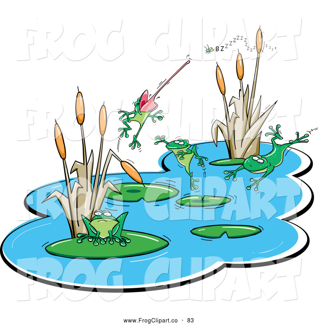 Frog pond clipart picture free Frog Pond | Clipart Panda - Free Clipart Images picture free