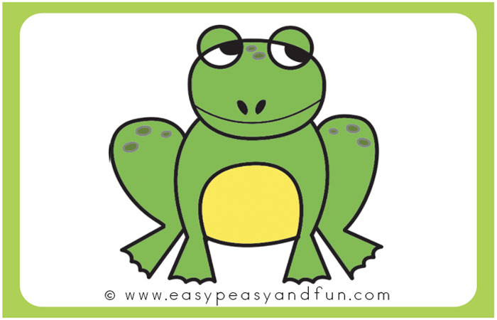 Frog start and finish line clipart image library How to Draw a Frog - Step by Step Drawing Instructions (+printable ... image library