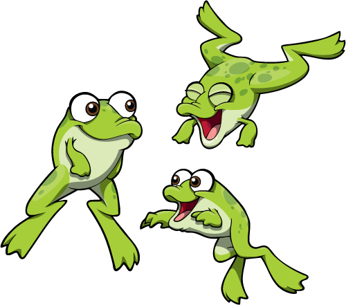 Frog swimming clipart png library library Swimming Frogs png library library