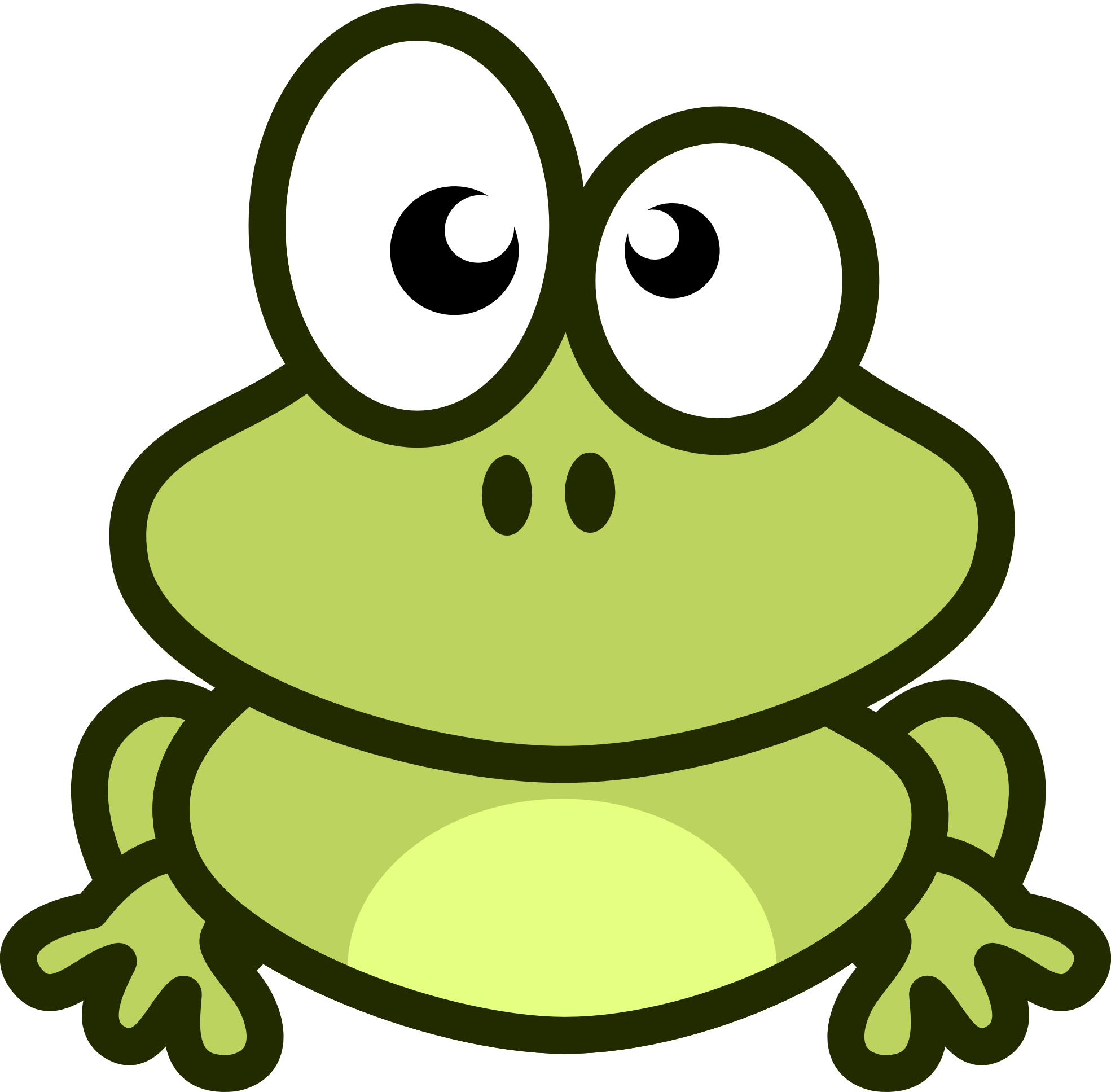 Frog vector clipart clip freeuse FROG Vector Free - ClipArt Best - Cliparts.co clip freeuse