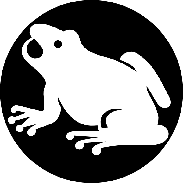 Tree frog clipart black and white image royalty free download Tree Frog Clip Art Black And White | Clipart Panda - Free Clipart Images image royalty free download